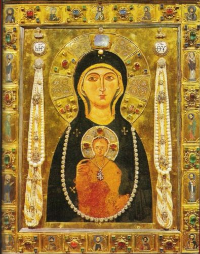 Icon of Madonna & Child