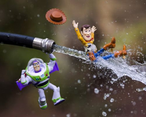 This Photographer Combines Toys and Practical Effects