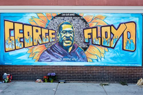 From Minneapolis to Syria, Artists Are Honoring George Floyd Through Murals and Public Artworks