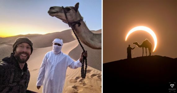 How It Was Shot: Capturing a 'Ring of Fire' Eclipse Portrait in the Desert