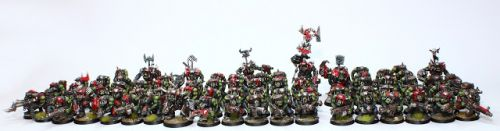 Showcase: Goff Orks Army
