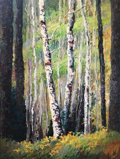 """New Summer from the """"Evolving Seasons"""" Series by Contemporary Impressionist Niki Gulley"""
