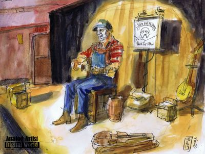 There aint No More; Death of a Folksinger, at Fringe