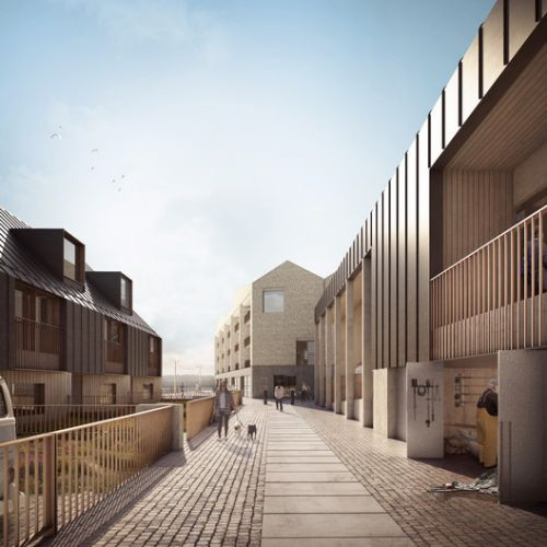 FCBStudios Reimagines Industrial Heritage of Cornwall to Revitalize UNESCO Harbor Site