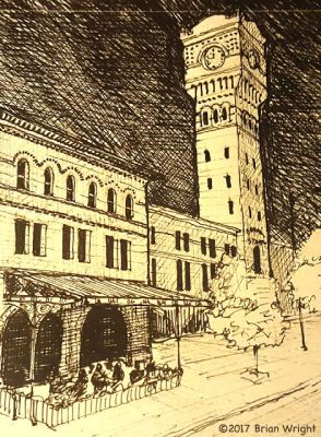 Postcards From Chicago: 7 Dearborn Station