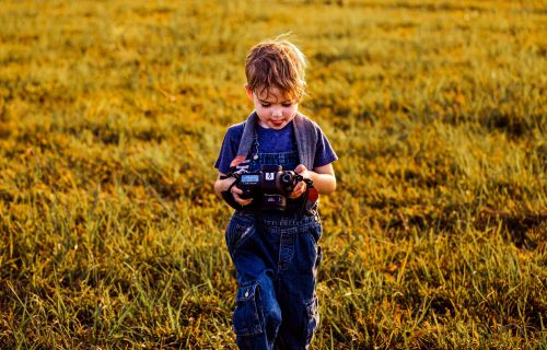 Raising a Shutterbug: How Our 4-Year-Old Became a Photographer