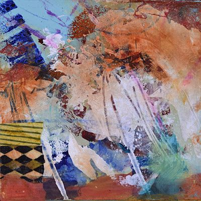 BOGO - Mixed Media Abstract Painting, Contemporary Art