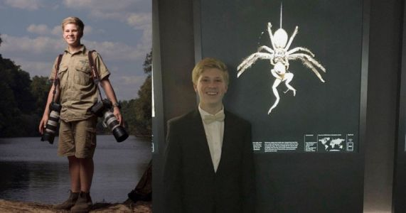 Steve Irwin's 14-Year-Old Son 'Highly Commended' in Most Prestigious Nature Photo Contest