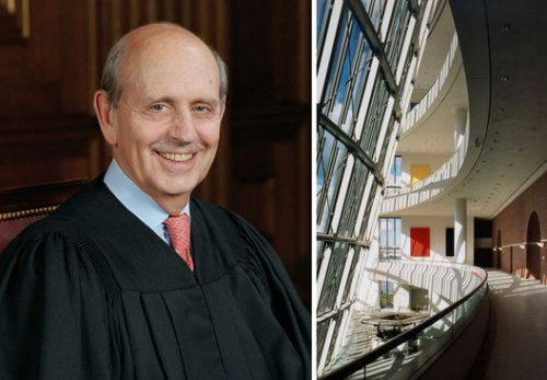 Supreme Court Justice Stephen Breyer Named Chair of the Pritzker Jury