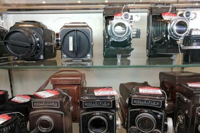 4 Cool and Unusual Used Cameras Found in Tokyo