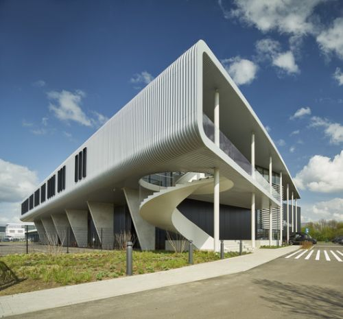 EeStairs Headquarters / Bronsvoort Blaak Architecten