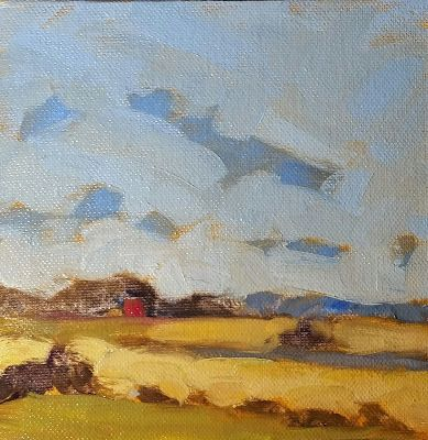 Contemporary Rural Landscape Painting
