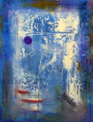 """Non Objective Painting, Contemporary Art """"The Patron"""" by International Abstract Artist Arrachme"""