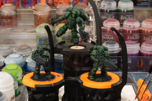 WIP: Dark Angels Hellblasters and Inceptor