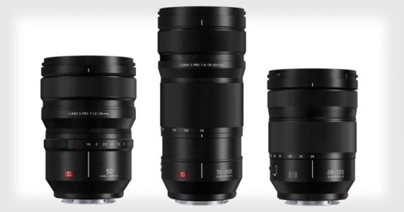 Panasonic Unveils 50mm f/1.4, 70-200mm f/4 OIS, and 24-105mm f/4 OIS S Lenses