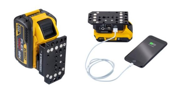 This Adapter Lets You Use Power Tool Batteries to Power Your Camera Gear
