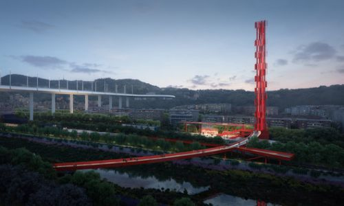 Stefano Boeri-led Team Wins Competition for the Parco del Ponte in Genoa