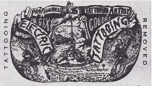 Lew the Jew and his Circle: Origins of American Tattoo - at the CJM, closing June 9th