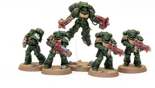 Showcase: Dark Angels Primaris Space Marines