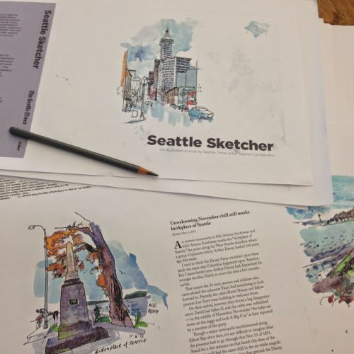 Seattle Sketcher book layouts have arrived