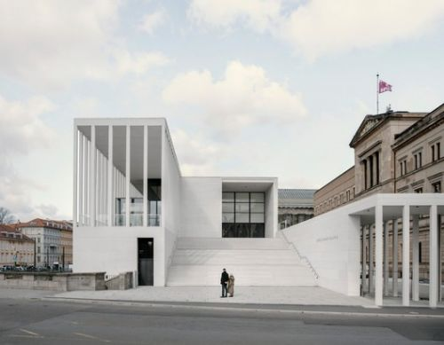 David Chipperfield's New Museum Island Gallery Opens in Berlin