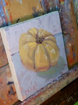 Still Life Oil Painting Original Art Heirloom Tomato