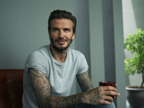 In Bangkok with David Beckham