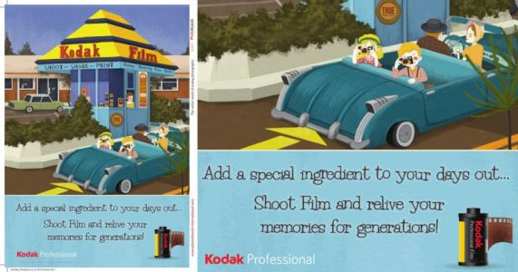 This is the First Magazine Ad for Kodak Film in Many Years