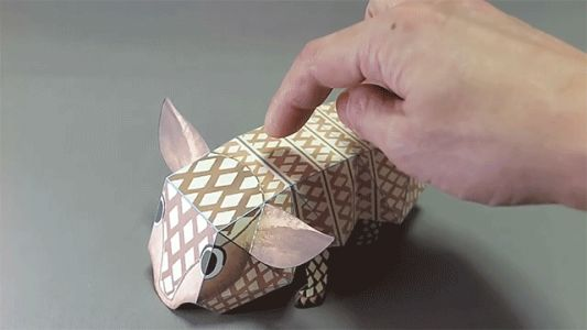 Handmade Paper Toys by Haruki Nakamura Spring, Fold, and Jump into Action