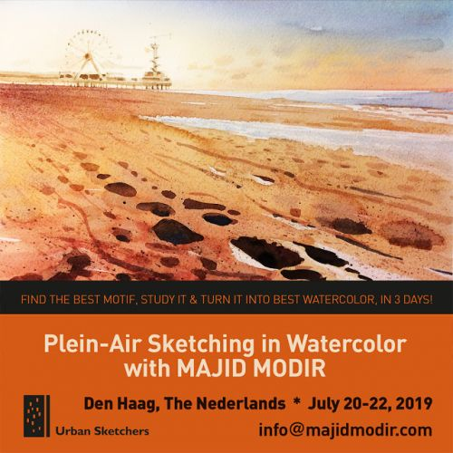 USk Workshop: Plein-Air Sketching in Watercolor