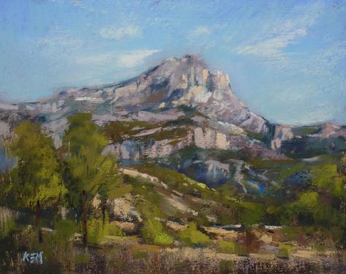 Try this Fun Challenge! Paint Mont Sainte-Victoire!
