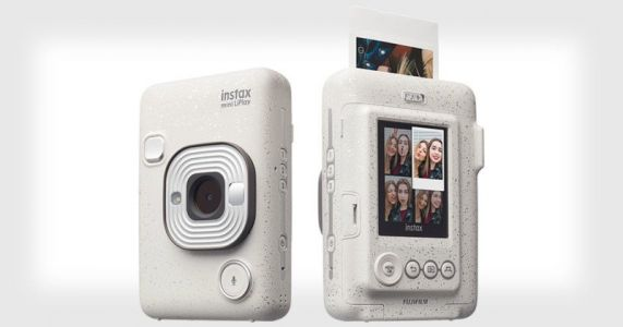 Fujifilm Instax Mini LiPlay Prints Audio Onto Instant Photos