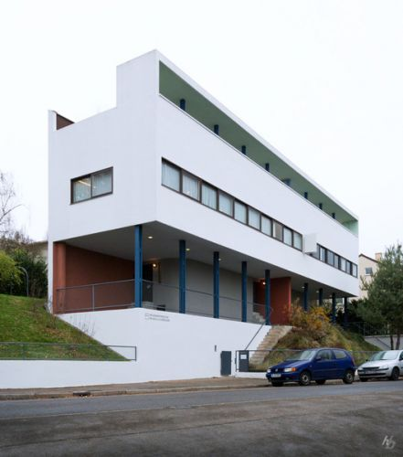 AD Classics: Weissenhof-Siedlung Houses 14 and 15 / Le Corbusier + Pierre Jeanneret