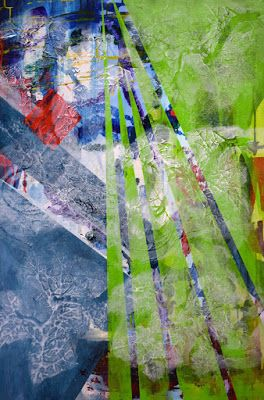 "Non Objective Painting, Contemporary Art ""Escapade"" by International Abstract Artist Arrachme"