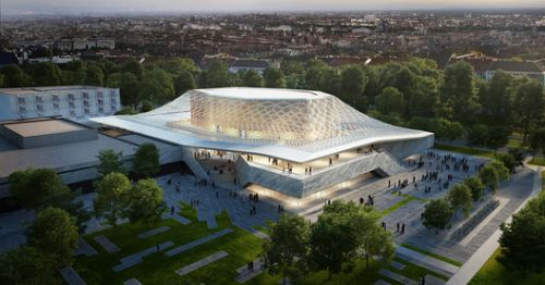 "Matthijs la Roi and BART Design ""Cultural Jewel"" Concert Hall in Nuremberg"
