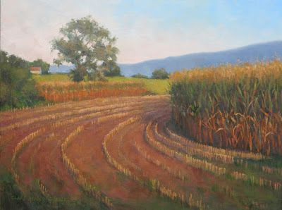 'Golden Afternoon' An Original Oil Painting by Claire Beadon Carnell