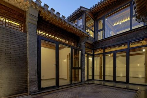 Hutong Courtyard Renovation at Qianmen Street / Super + Partners