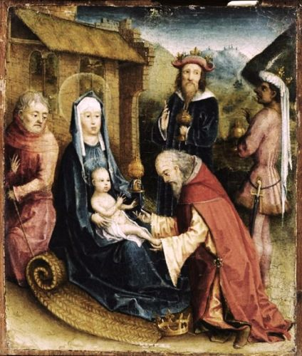 Epiphany - The Kings finding the Christ Child