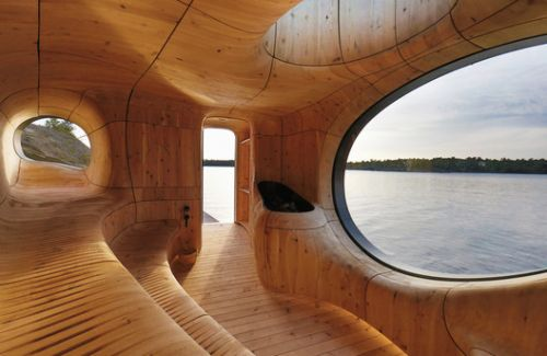 Contemporary Canadian Wooden Architecture in Photos and Drawings