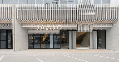 Facade Design of Jambo Arts Hotel / FAR WORKSHOP