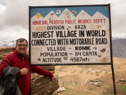 The World's Highest Street Photo