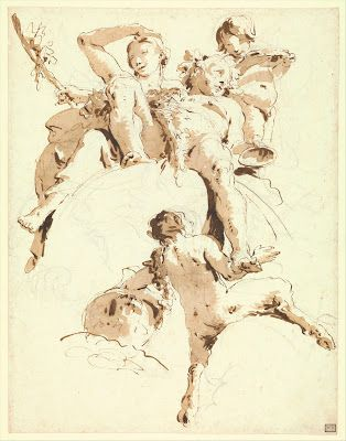 Tiepolo: Restricted Value Ink Wash