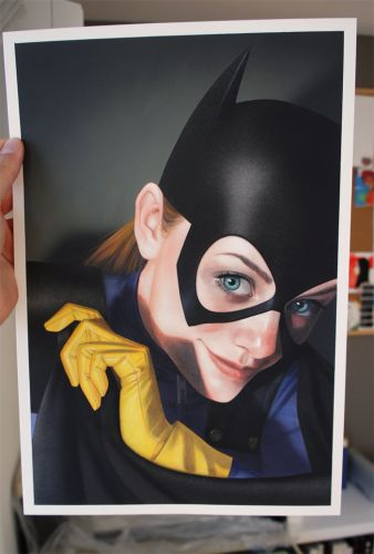 BATGIRL 25 original art for sale