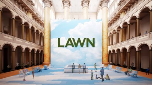 """Rockwell Group's """"Lawn"""" to Open at the National Building Museum this Summer"""