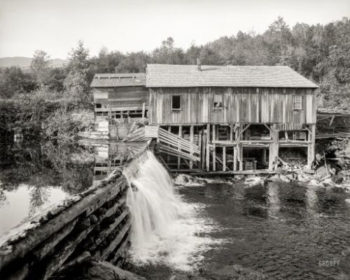 The Old Mill Stream: 1905
