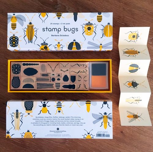 Buggin' Out: New DIY Insect Stamp Kits