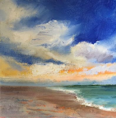 "Seascape, ""Perfect Day,"" by Amy Whitehouse"