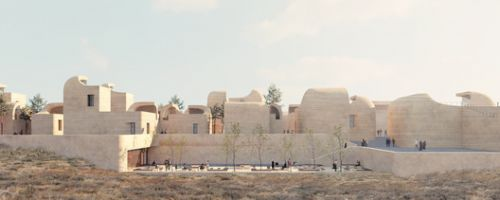 A Town within a Town for Sadra's Civic Center