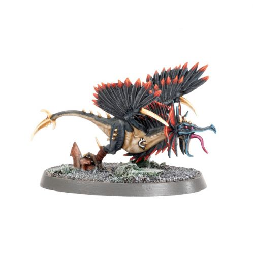 Tutorial: How to paint Chaos Raptoryx from Warcry