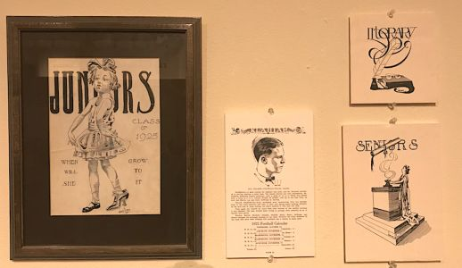 Illustrator John Clymer Artifacts, Plus a Tom Lovell Bit